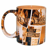 "NYC ""Sepia Photos"" 11oz Mug"