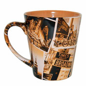 "NYC ""Sepia Photos"" Designer Mug"