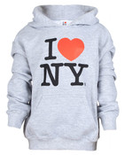 I Love NY Ash Kids Sweatshirt