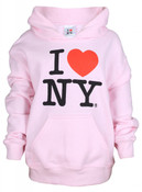 I Love NY Pink Kids Sweatshirt