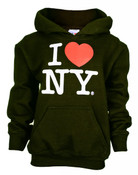 I Love NY Black Kids Sweatshirt