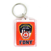 FDNY Keychain - Red
