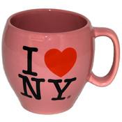"I Love NY Pink ""Cup-o-Soup"" Mug"