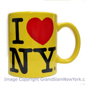 I Love NY Yellow 11oz Mug