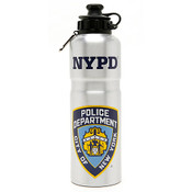 NYPD Lt Blue Water Bottle