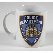 NYPD White 11 oz Mug