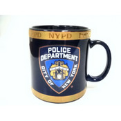 NYPD Navy with Gold 11oz Mug