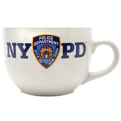 NYPD White Soup Mug