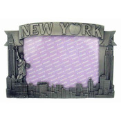 NY Apple Icons 5 x 7 Metal Picture Frame