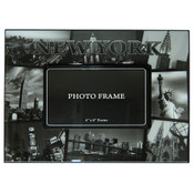 New York Black and White Photos 4 x 6 Frame