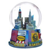 Times Square Billboards 65mm Snowglobe
