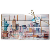 NY Skyline Mosaic 24 pc Chocolate Gift Set