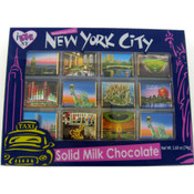 NYC Icons Milk Chocolate 12 pc Set