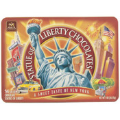 Statue of Liberty Milk Chocolate Gift Box