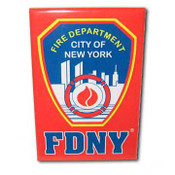 FDNY Red Magnet