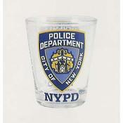 NYPD Clear Shotglass