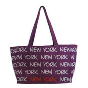 Robin-Ruth NY Purple Tote Bag