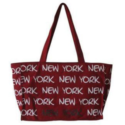 Robin-Ruth NY Red/White Tote Bag