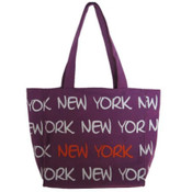 Robin-Ruth NY Purple Small Tote Bag