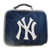 NY Yankees Navy Soft Insulated Lunch Bag