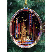 Radio City Double Sided Ornament