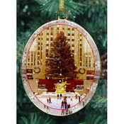 Rockefeller Center Double Sided Ornament