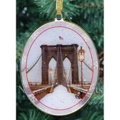 Brooklyn Bridge Double Sided Ornament