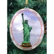 Statue of Liberty Double Sided Ornament
