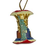 Core of the Big Apple Liberty Ornament