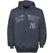 "Yankees ""Hook Slide"" Navy Hooded Fleece"