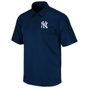 "Yankees ""Atlas"" Synthetic Navy Mens Polo"