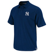 "Yankees ""Base Coach"" Navy Polo"