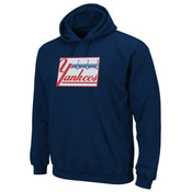 "Yankees ""Felt Tek Patch"" Navy Hooded Fleece"