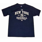 "Yankees ""Classic"" Navy Youth Tee"