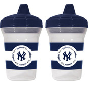 NY Yankees Sippy Cups 2-Pack