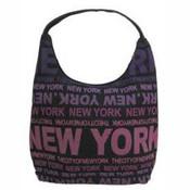 Robin-Ruth NY Black/Purple Luxury Bag
