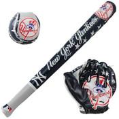 New York Yankees Soft Ball, Bat & Glove Set