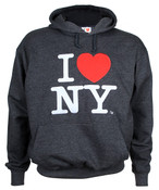Charcoal I Love NY embroidered Sweatshirt