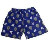 Blue NYPD Shield Pajama Shorts