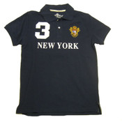 Navy New York 3 Series Polo