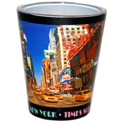 Times Square Postcard Shotglass