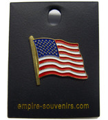 USA Flag Lapel Pin - American Flag Pin