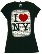 I Love Ny Brick Shirt