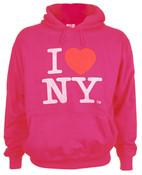 Fuchsia I Love NY Sweatshirt