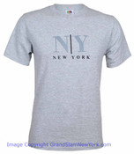 Gray NY/ New York T-Shirt