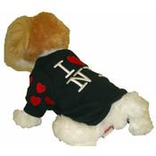 I Love NY Black Dog Sweatshirt