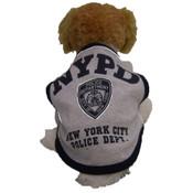 NYPD Grey Dog T-Shirt