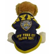 NYPD Navy/Yellow Dog T-Shirt