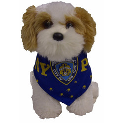 NYPD Blue Dog Bandana