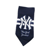 Yankees Mesh Navy Dog Bandana